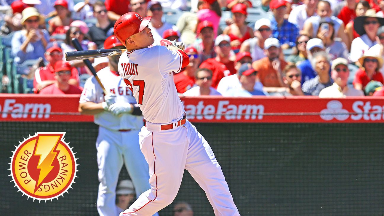 No longer the bridesmaid: Trout wins AL MVP
