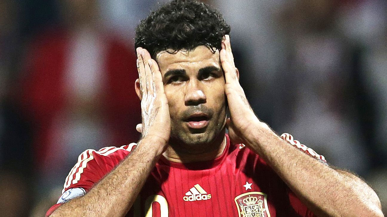 Diego Costa Juan Mata And Fernando Torres Miss Out On Spain Squad