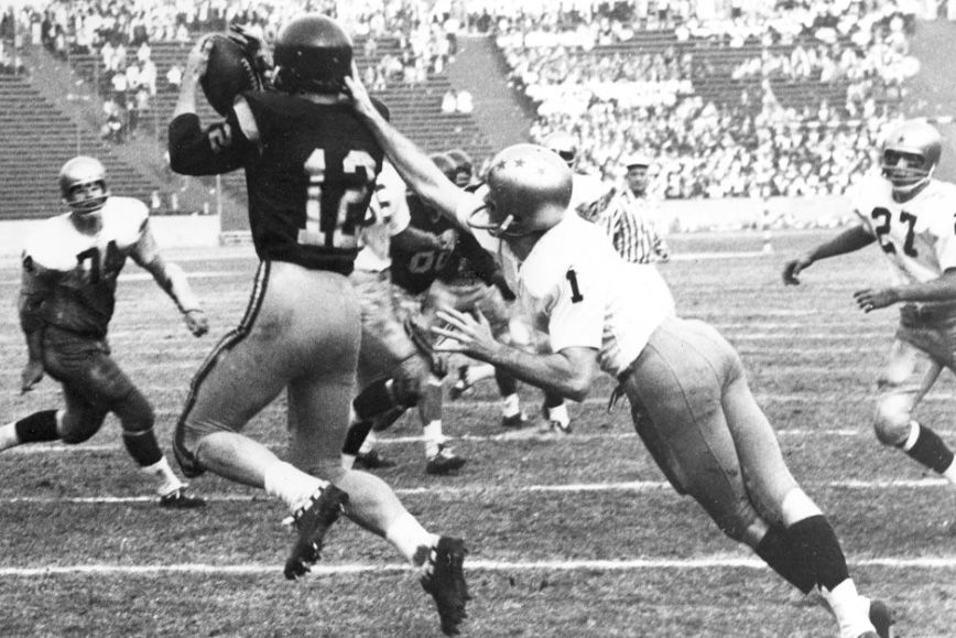 Remembering Rod Sherman's touchdown against Notre Dame 50 years ...