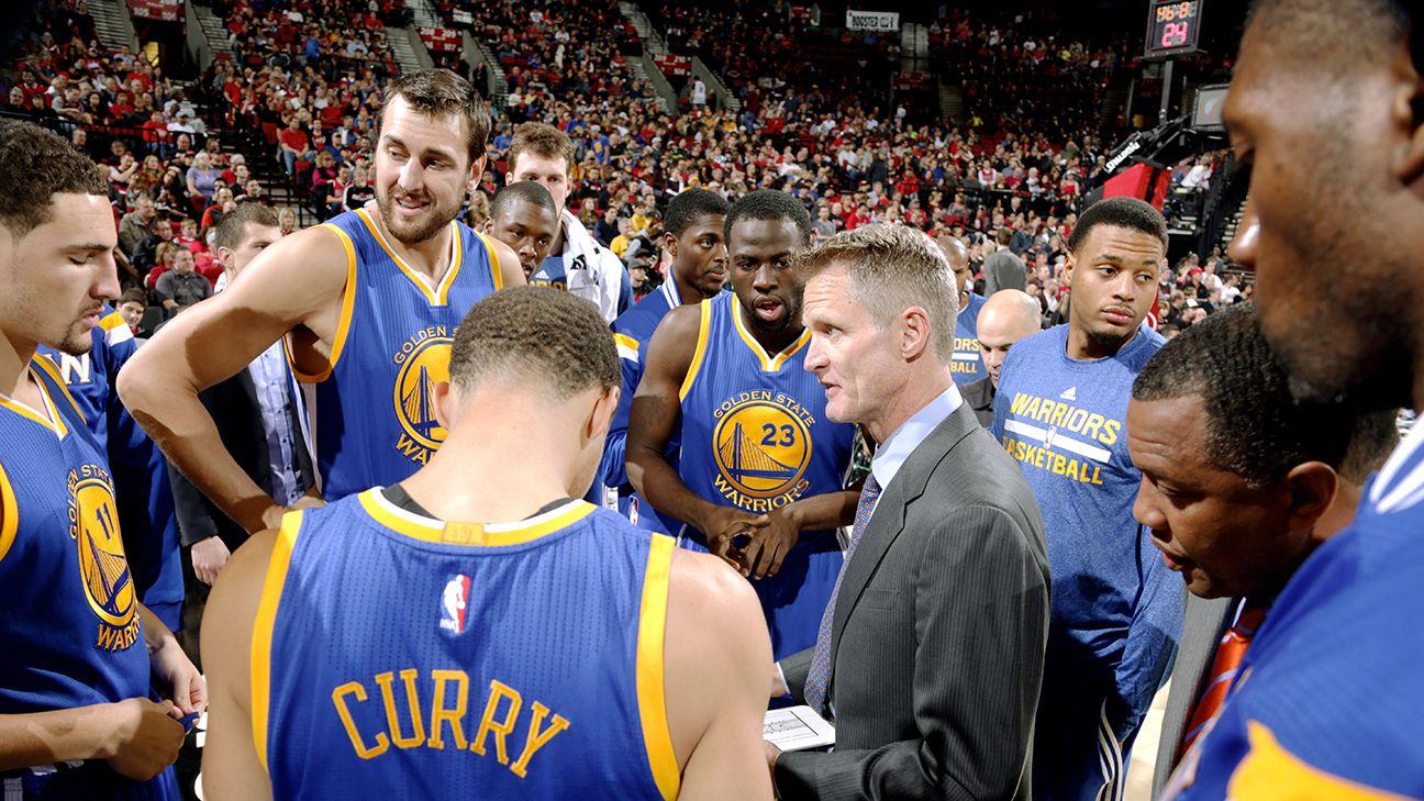 Steve Kerr: Warriors won't win 72