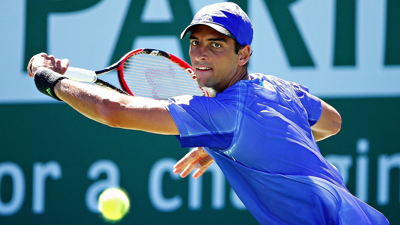 Brazil's Bellucci reaches quarterfinals in Ecuador