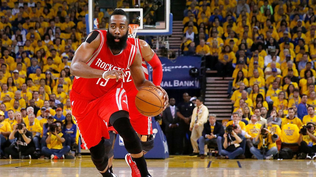 Ciudad Folleto nitrógeno  James Harden of Houston Rockets will join Adidas as Nike opts not to match  13-year, $200 million offer