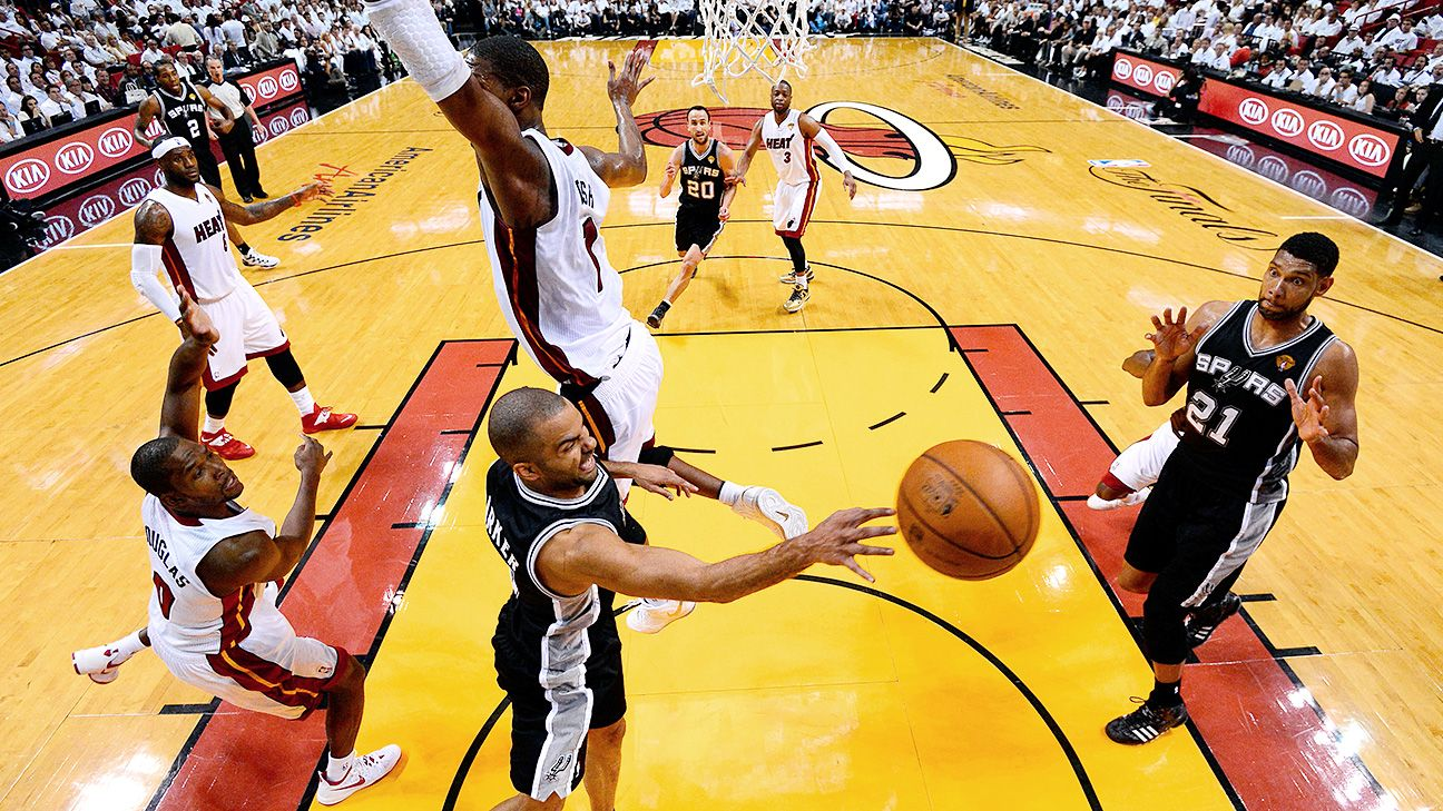 e0b99e200913 How the Spurs  2014 Finals performance changed the NBA forever