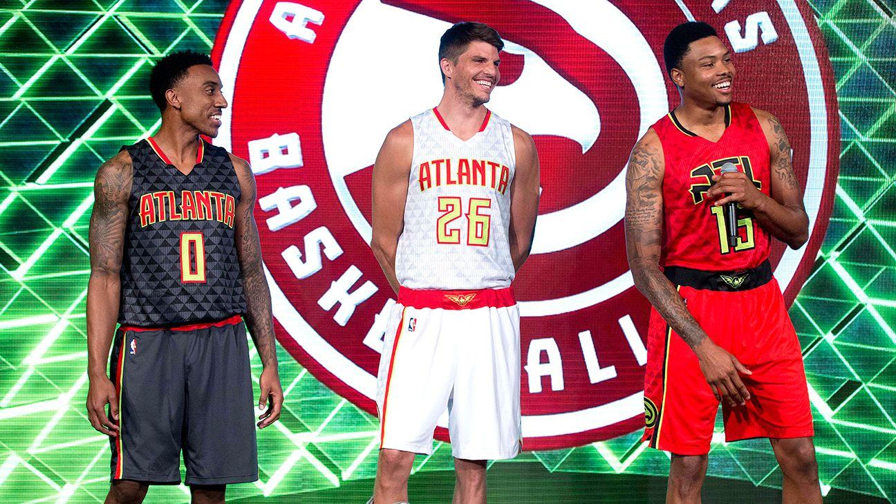Uni Watch - Grading the Atlanta Hawks  new uniforms cf3c57515