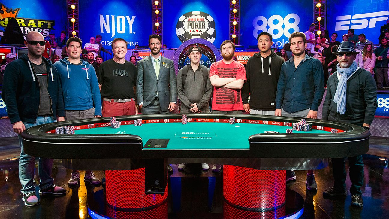 2015 WSOP - Joe McKeehen leads November Nine - Poker Blog- ESPN