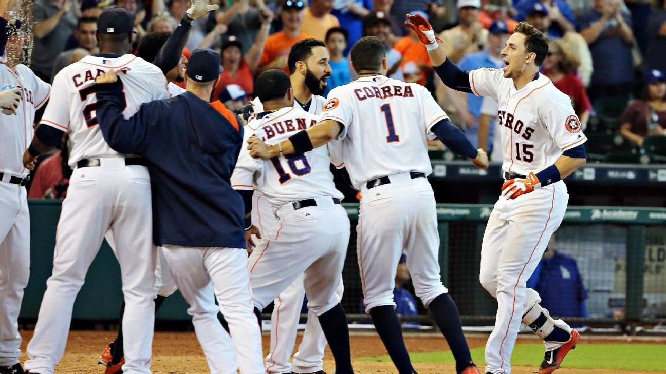 Astros ready to lift off for an October destination