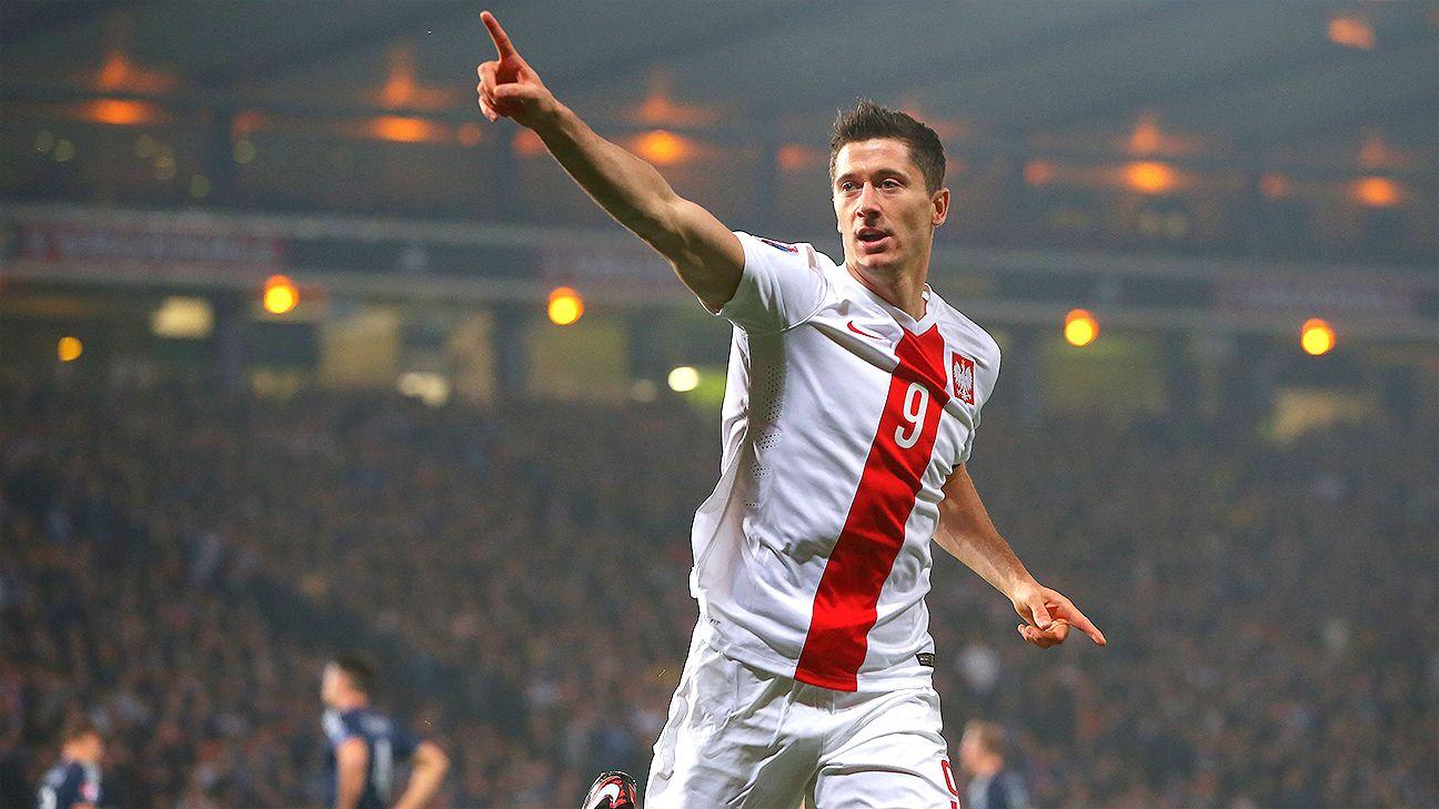 big sale c907f 21a55 Poland's Robert Lewandowski ends Scotland's Euro 2016 dream ...