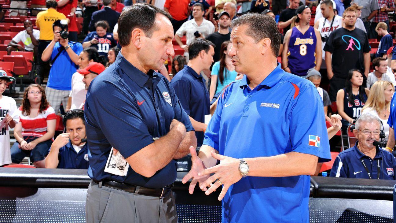 2013 Recruits Uk Basketball And Football Recruiting News: How Duke Coach Mike Krzyzewski Is Beating Kentucky's John