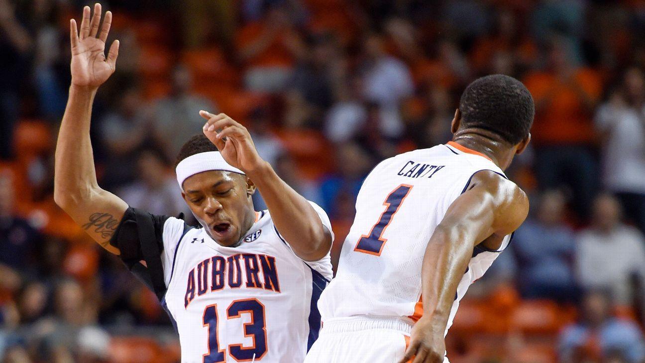Auburn suspends top scorer Canty indefinitely