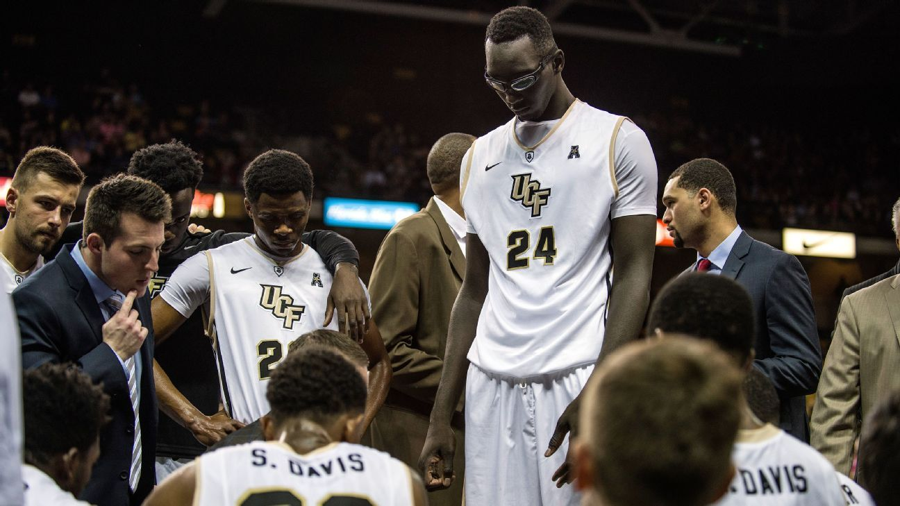Central Florida Knights' 7-foot-6 center Tacko Fall to ...