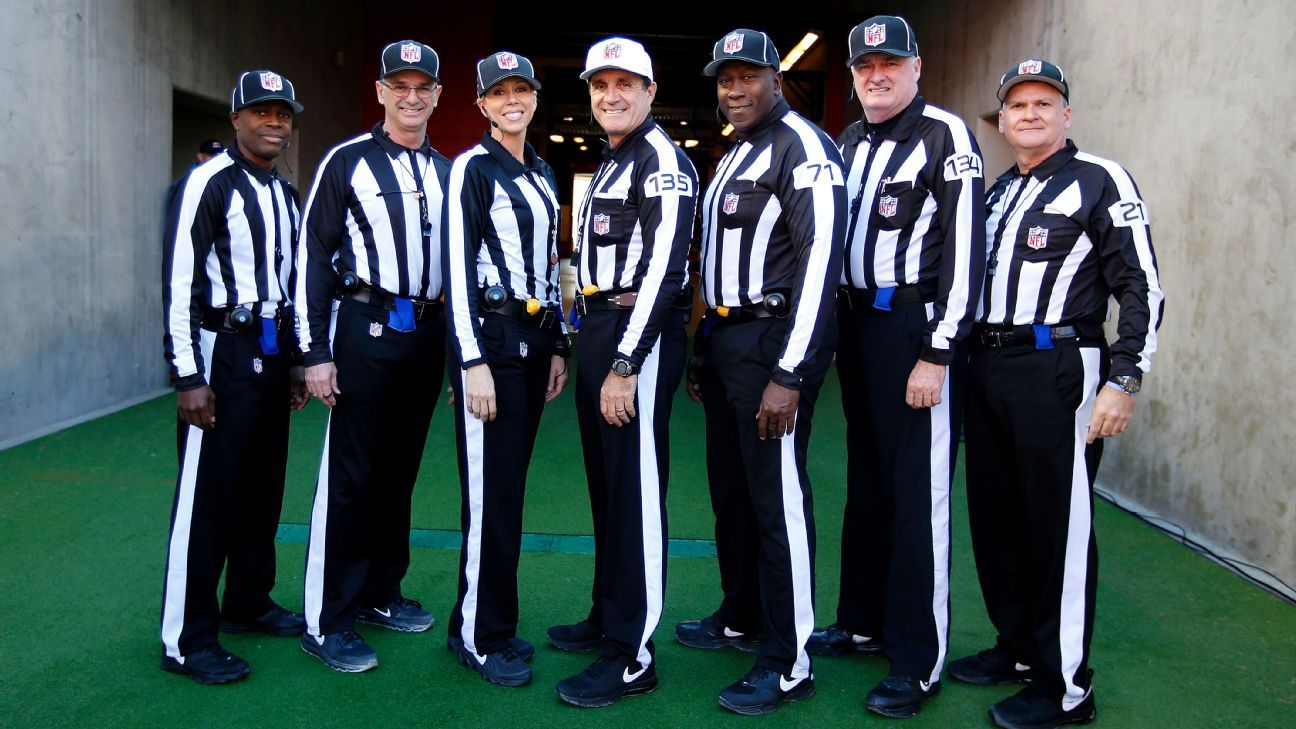 Nfl Officiating Slump Coincides With Personnel Turnover Nfl Nation