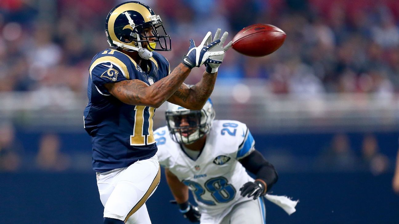 58f6c87f St. Louis Rams players have mixed reviews on Color Rush jerseys - NFL  Nation- ESPN