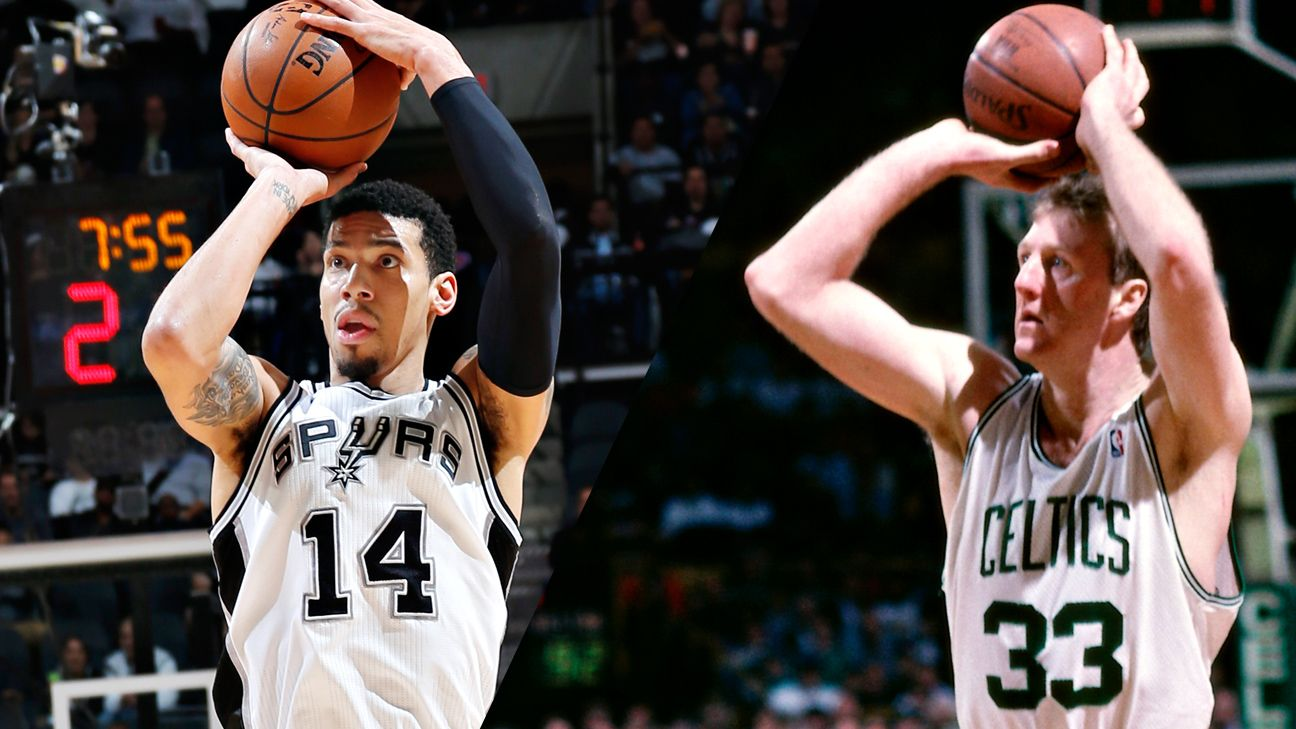 Spurs' Danny Green shocked he passed Larry Bird in career ...