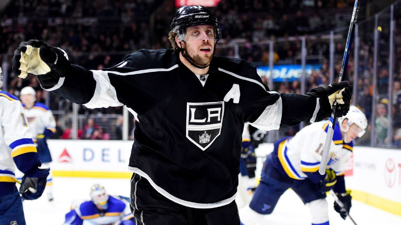 various colors 70ccf e10f4 Anze Kopitar is Los Angeles Kings' new captain as Dustin ...