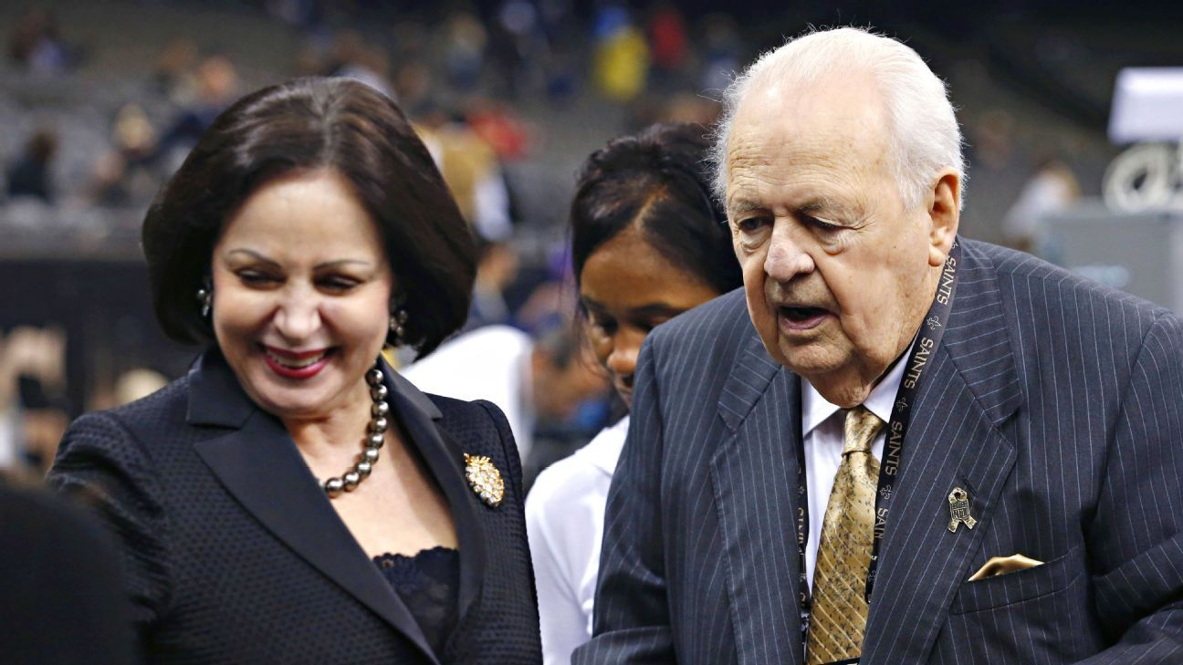 Gayle Benson vows to keep late husband Tom Benson s legacy alive ... 963b5f42a