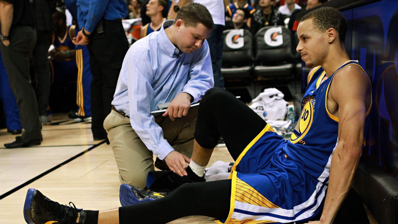 3c7c47bdce6c TrueHoop Presents  How the Golden State Warriors  Stephen Curry got the  best worst ankles in sports