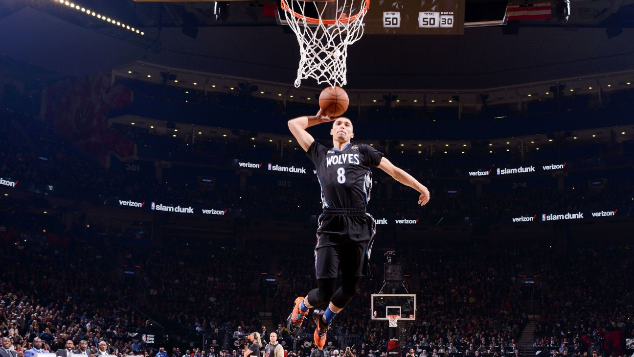 Wolves' Zach LaVine will not defend title at All-Star dunk ...