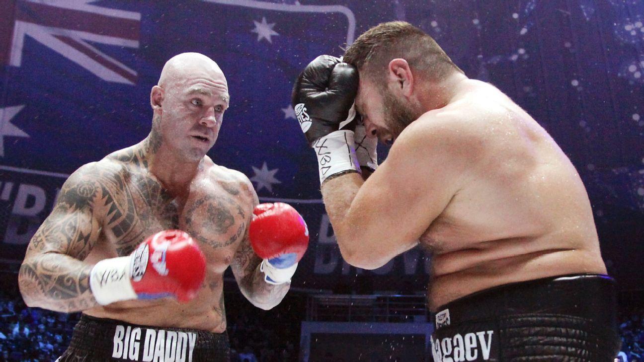 Lucas Browne failed drug test after fight vs. Ruslan Chagaev