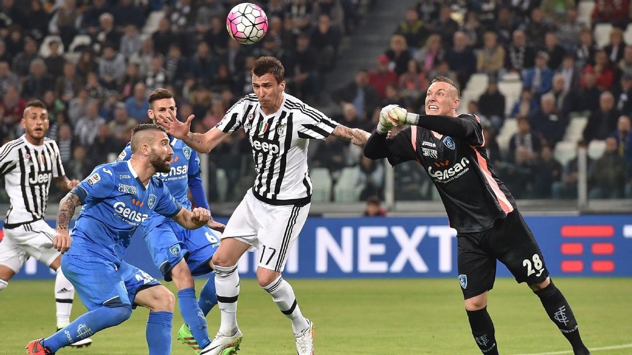 Juventus Vs Empoli Football Match Report April 2
