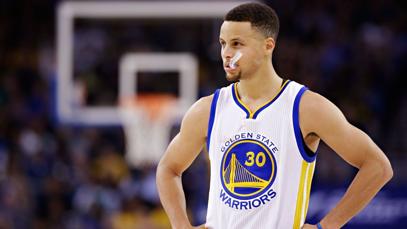 sports shoes 5225a 71d1e Mouthguard used by Stephen Curry of Golden State Warriors ...