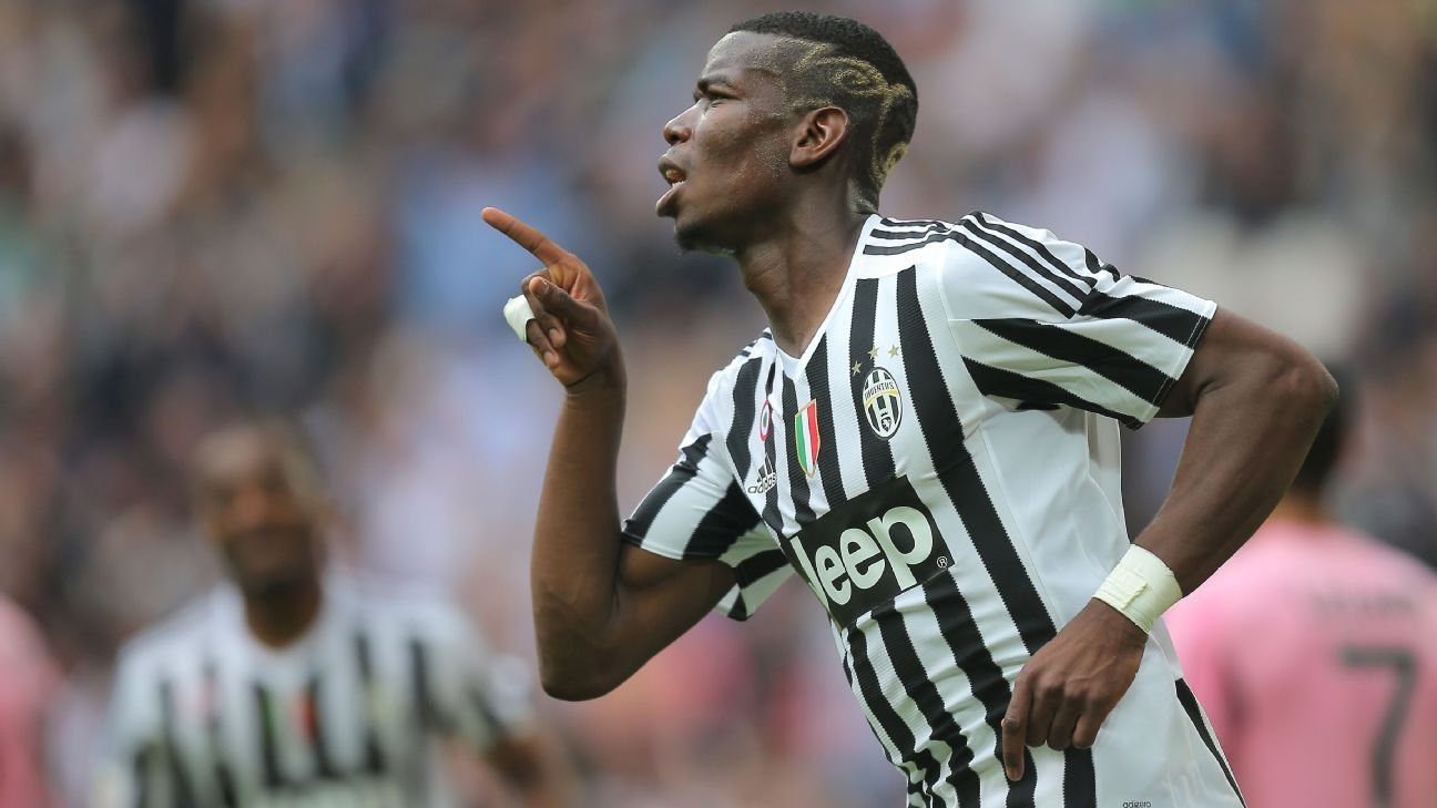Paul Pogba completes record move to Manchester United from Juventus