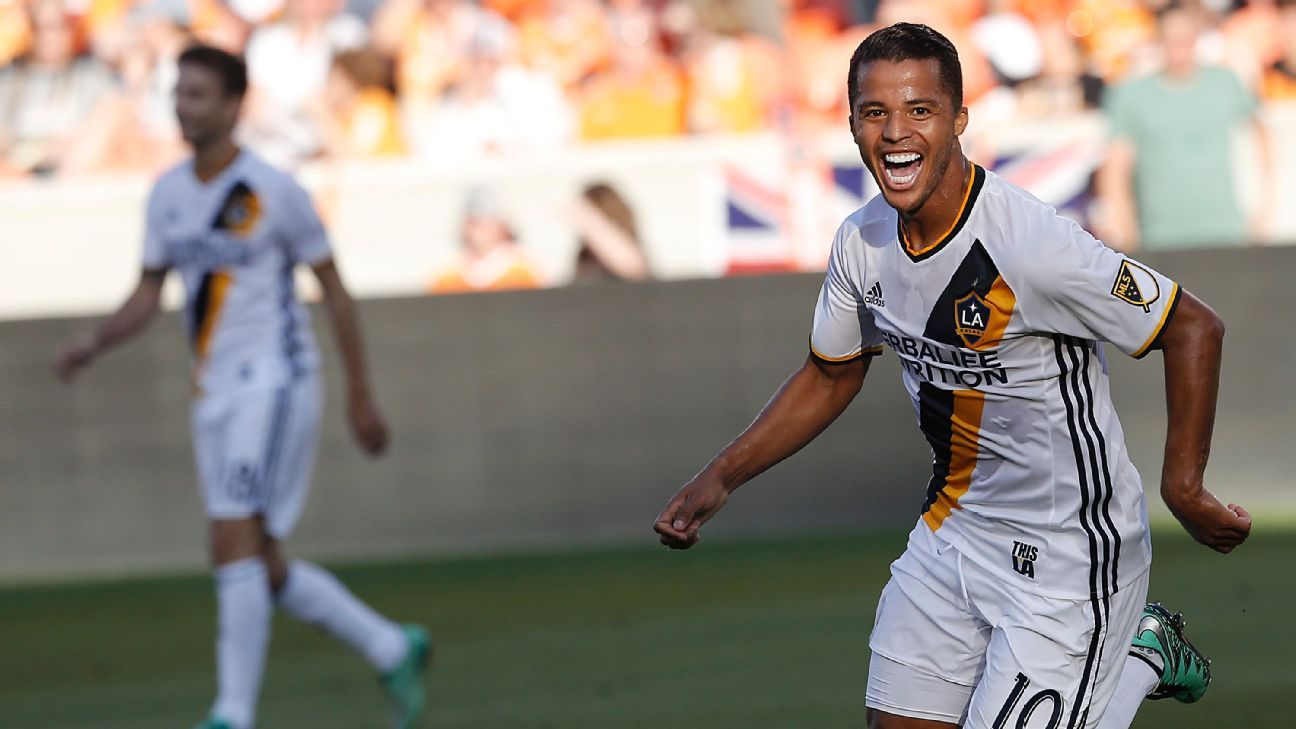 be218849b Giovani dos Santos wants to stay at LA Galaxy according to brother Jonathan