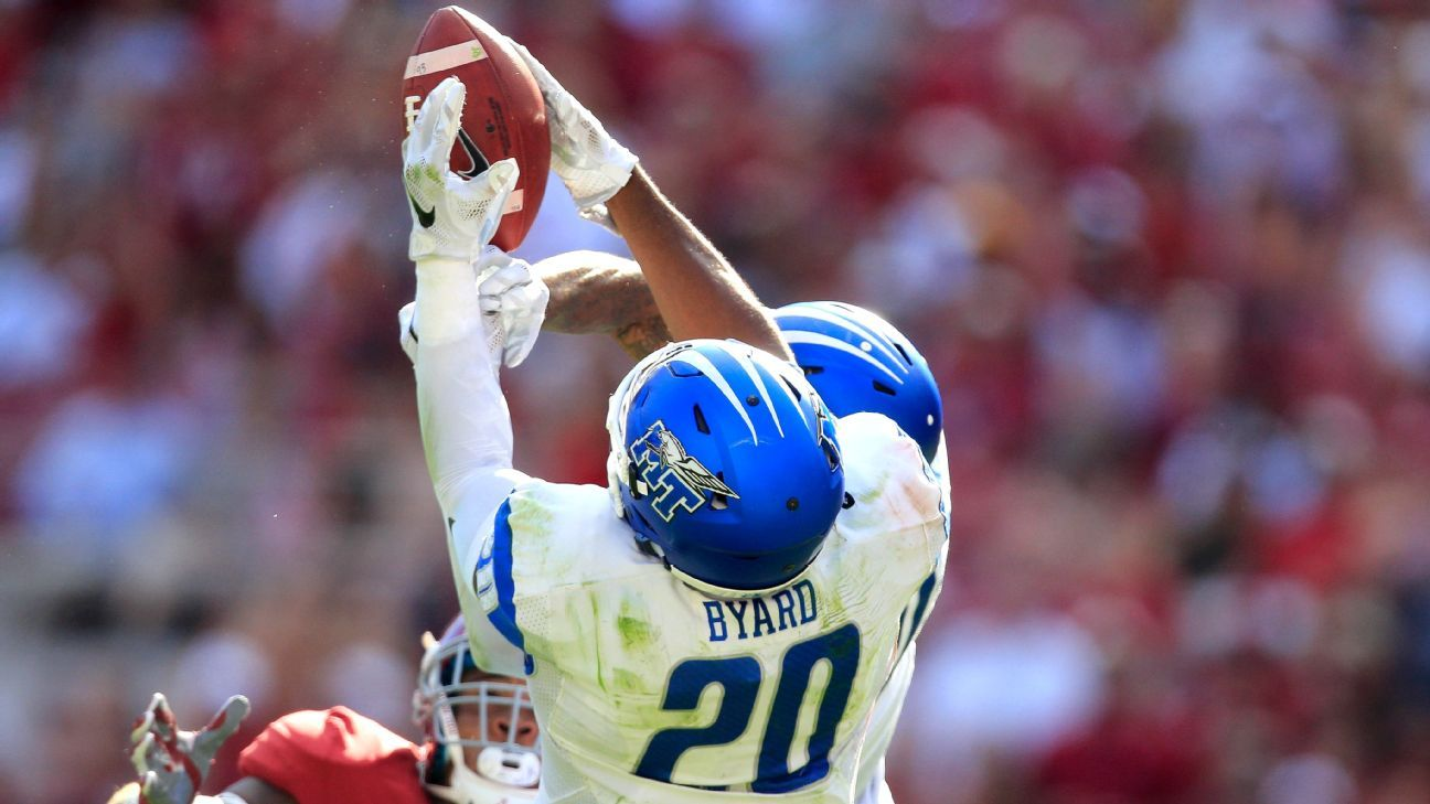 9466d88b9 Tennessee Titans rookie safety Kevin Byard has outfielder qualities -  Tennessee Titans Blog- ESPN