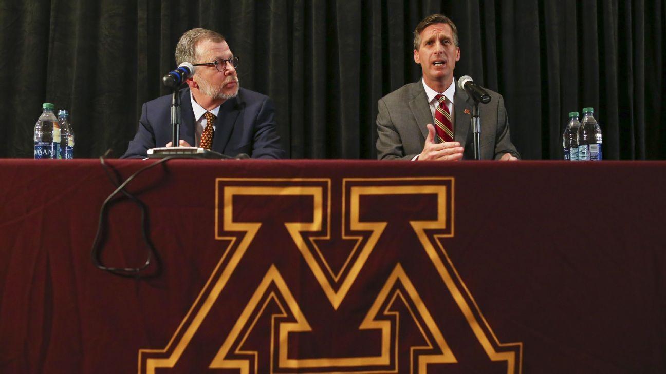 Minnesota AD Coyle extended through 2026