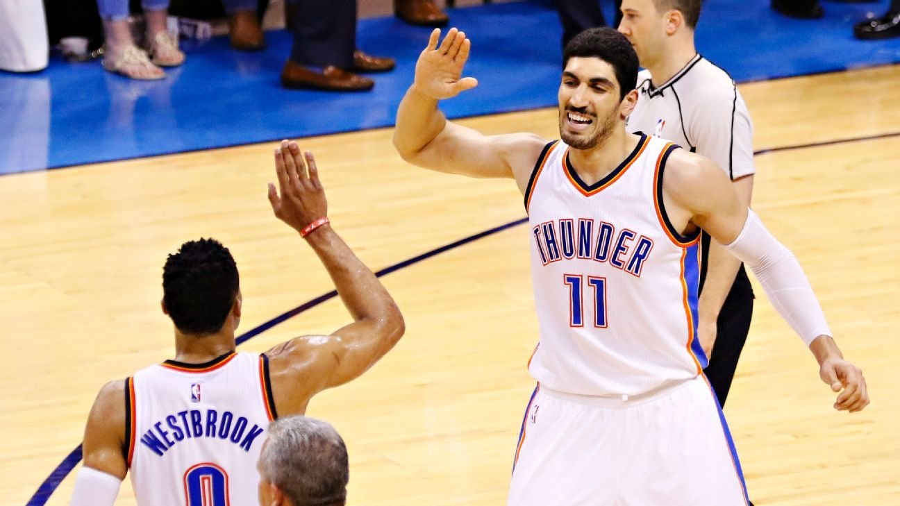 enes kanter trolls kevin durant and los angeles lakers