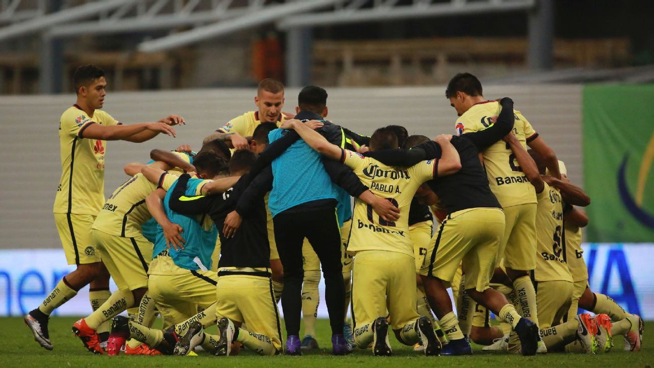 eebf449e45f Club America knock rivals Chivas out of Liga MX playoffs
