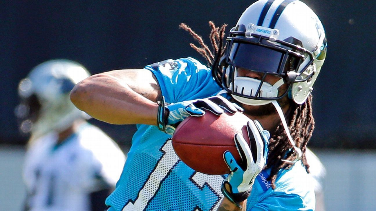 5bef7e3b5 Kelvin Benjamin -- I was limited by Carolina Panthers, Newton