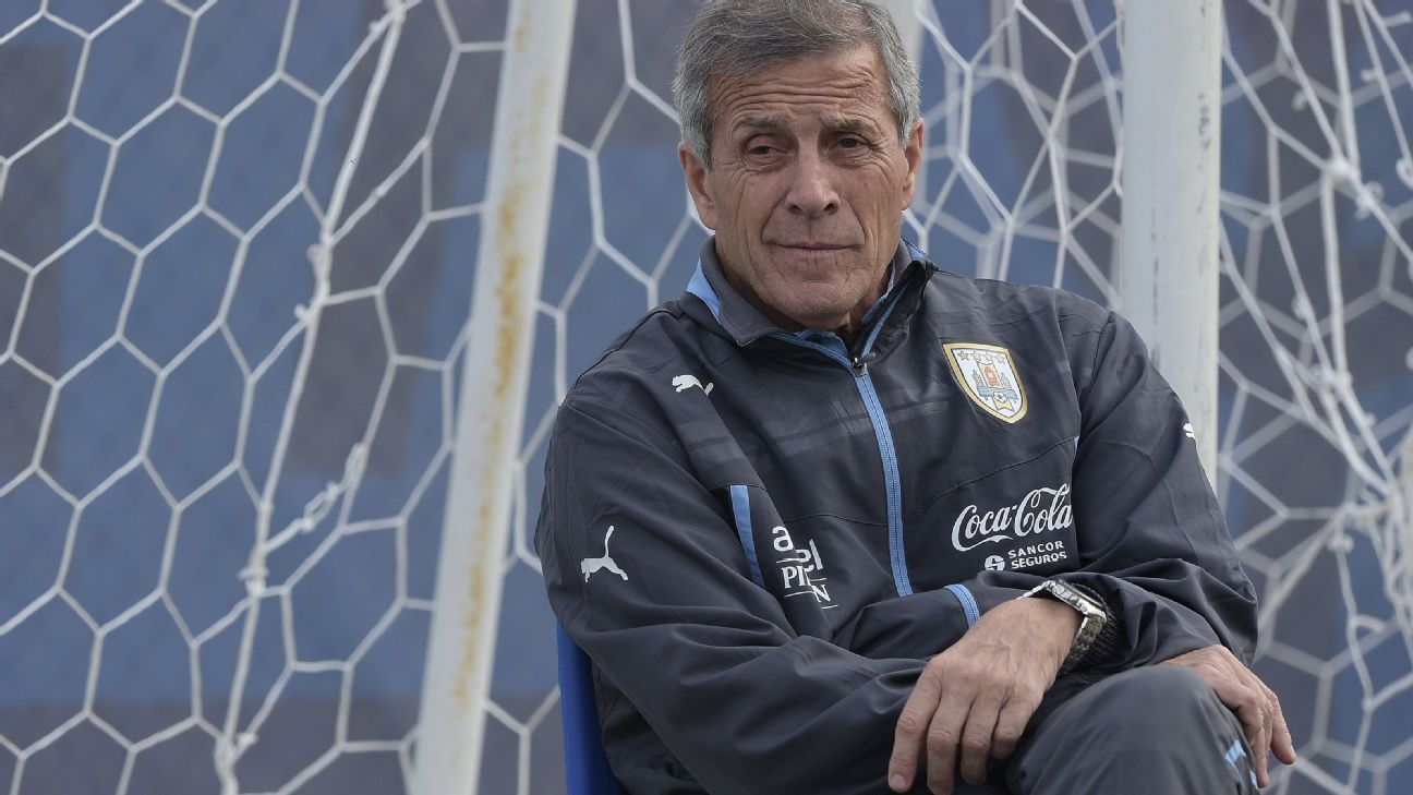 Uruguay have Tabarez to thank for their seemingly endless pipeline of young talent