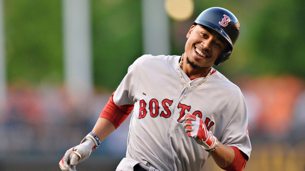 Boston's Mookie Betts makes history with 2 more home runs