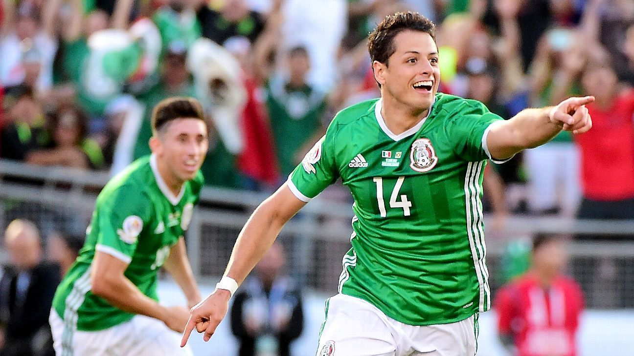 Mexicos Javier Hernandez Should Stay Out Of Midfield At World Cup Jared Borgetti