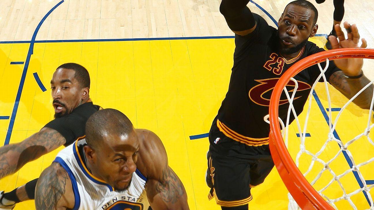 Golden State Warriors forward Andre Iguodala calls Cleveland Cavaliers forward LeBron James' NBA ...