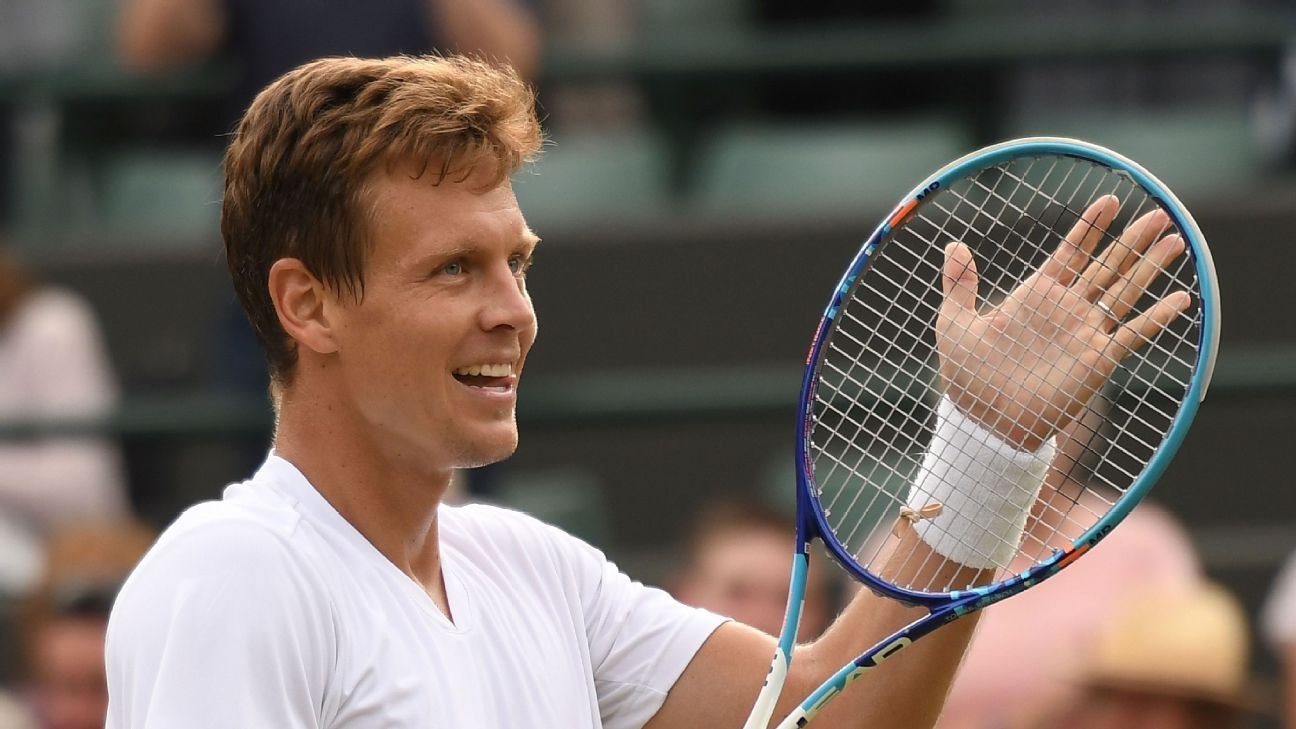 Wimbledon Diary Marriage Works In A Different Way For Tomas Berdych