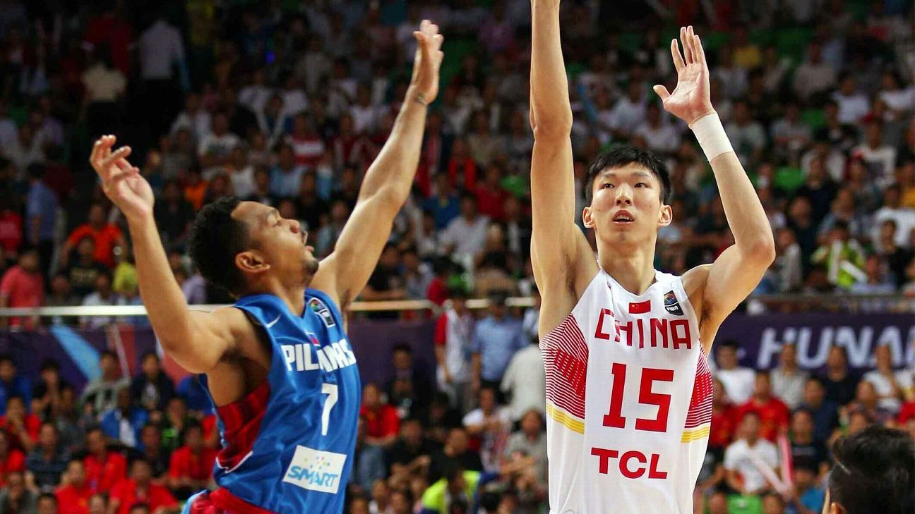Why China and the NBA have been waiting for Zhou Qi - Houston Rockets