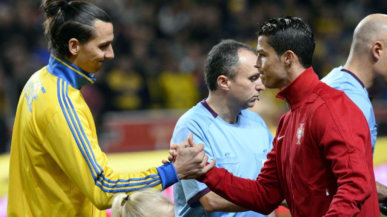 zlatan Cristiano Ronaldo