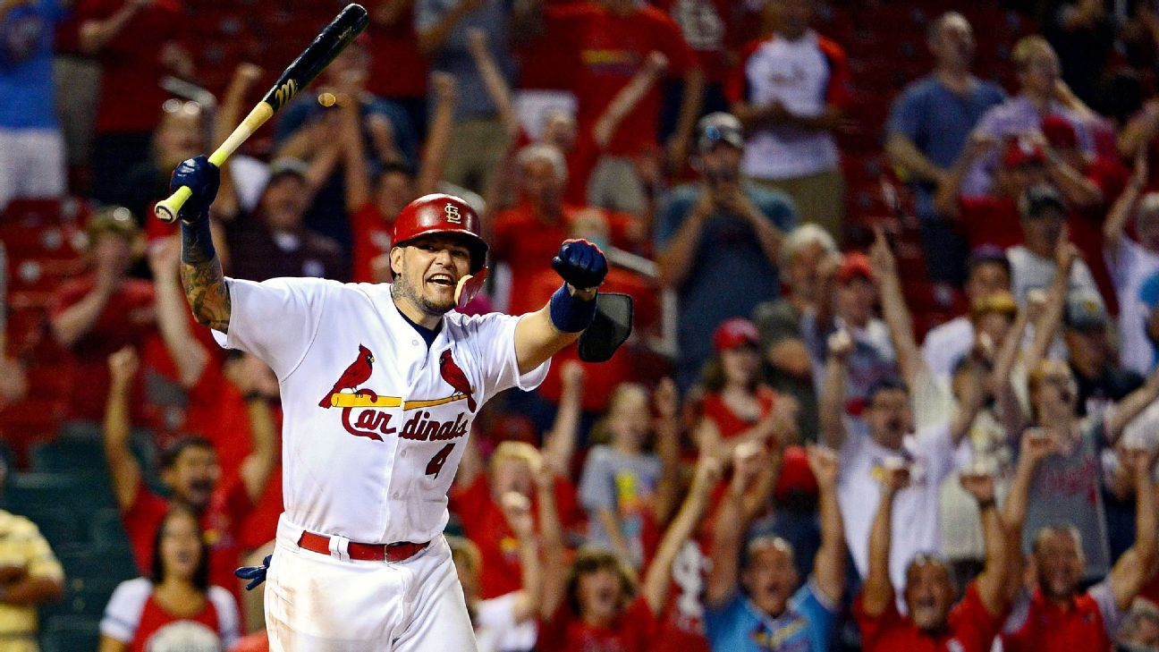 St. Louis Cardinals catcher Yadier Molina will represent ...