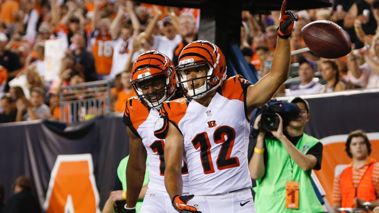 cff40e0a6a1 As Cincinnati Bengals  WR race heats up