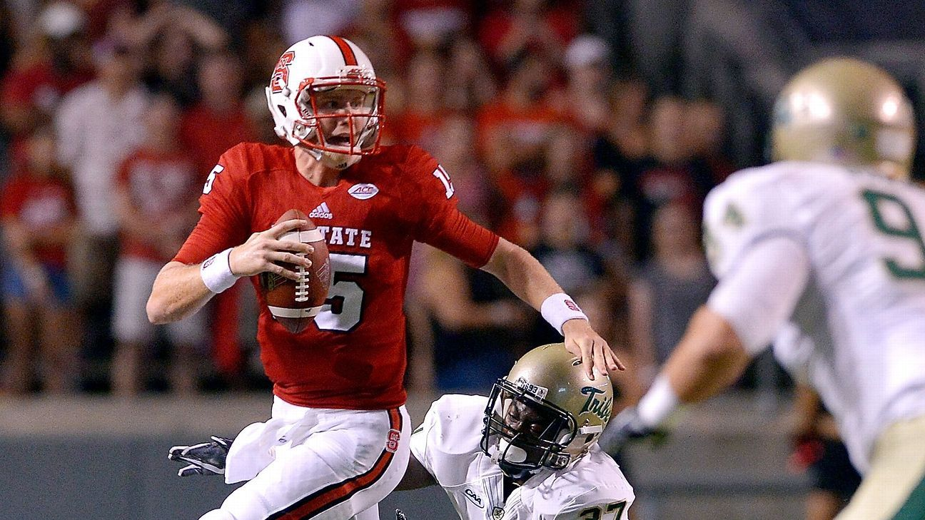 North Carolina State Wolfpack Settle Qb Situation With