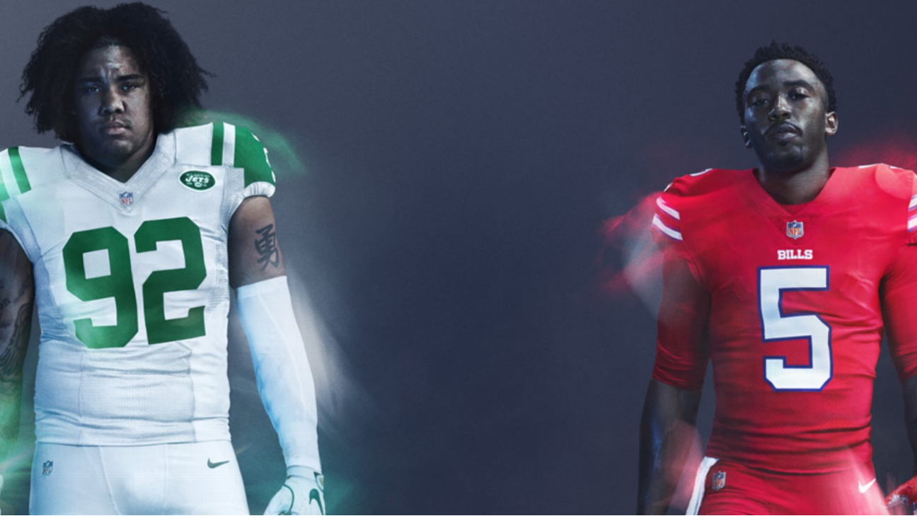 Uni Watch goes game-by-game to break down the NFL s latest Color Rush  uniforms e7f7c4ad0