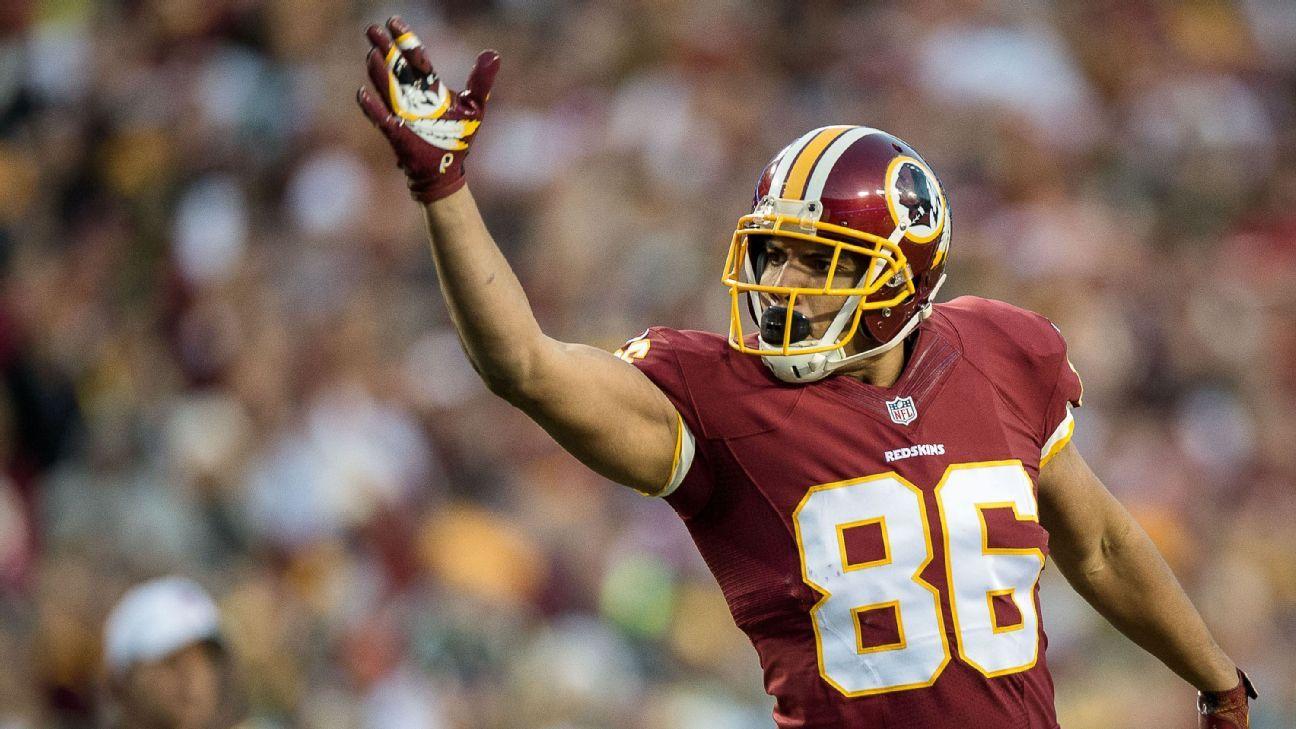 newest 76aa3 5024e Washington Redskins' Jordan Reed, DeSean Jackson miss ...