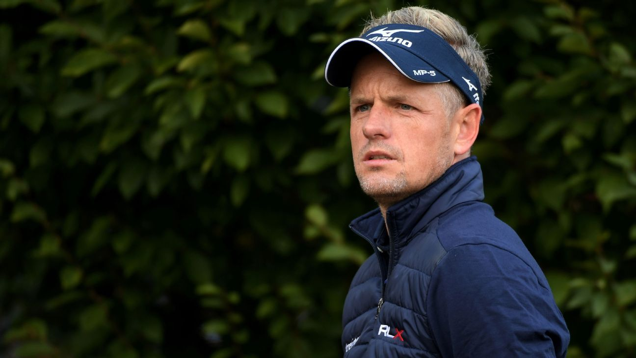 luke donald to take time off to help ailing back heal