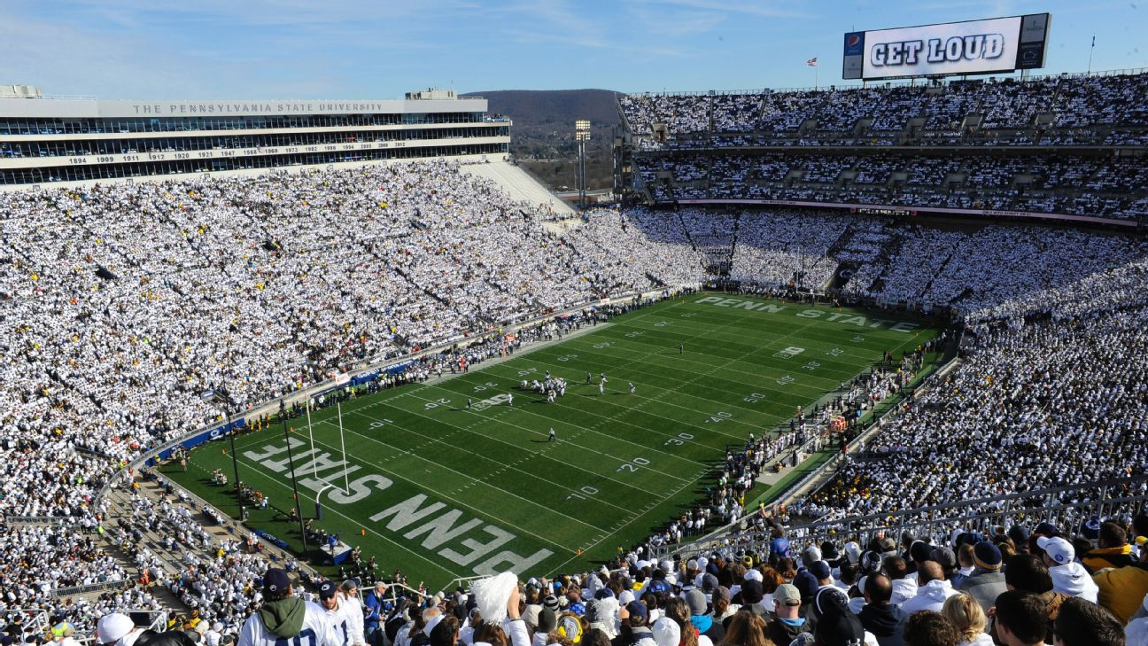 How Penn State Nittany Lions White Out Became The In Thing