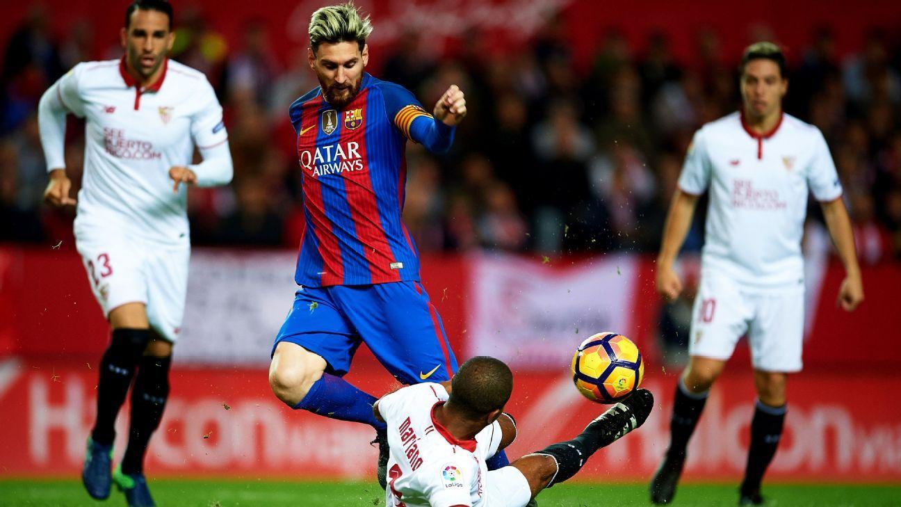 Barcelona Fail In Lionel Messi Yellow Card Appeal Vs Sevilla