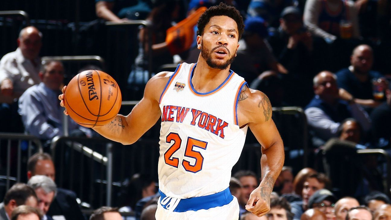 Derrick Rose hopes New York Knicks re-sign him despite disappearing act 78b99a42c