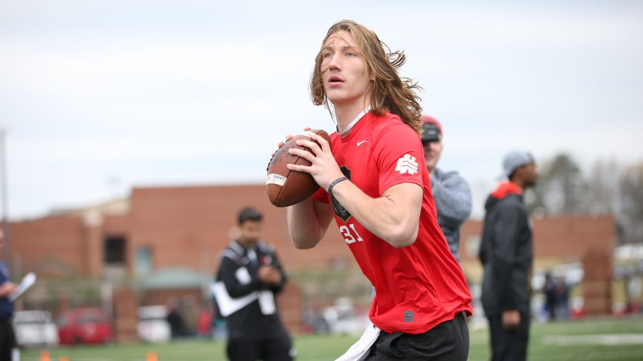 Clemson No. land Tigers Trevor Lawrence, QB recruit 2018 of 1