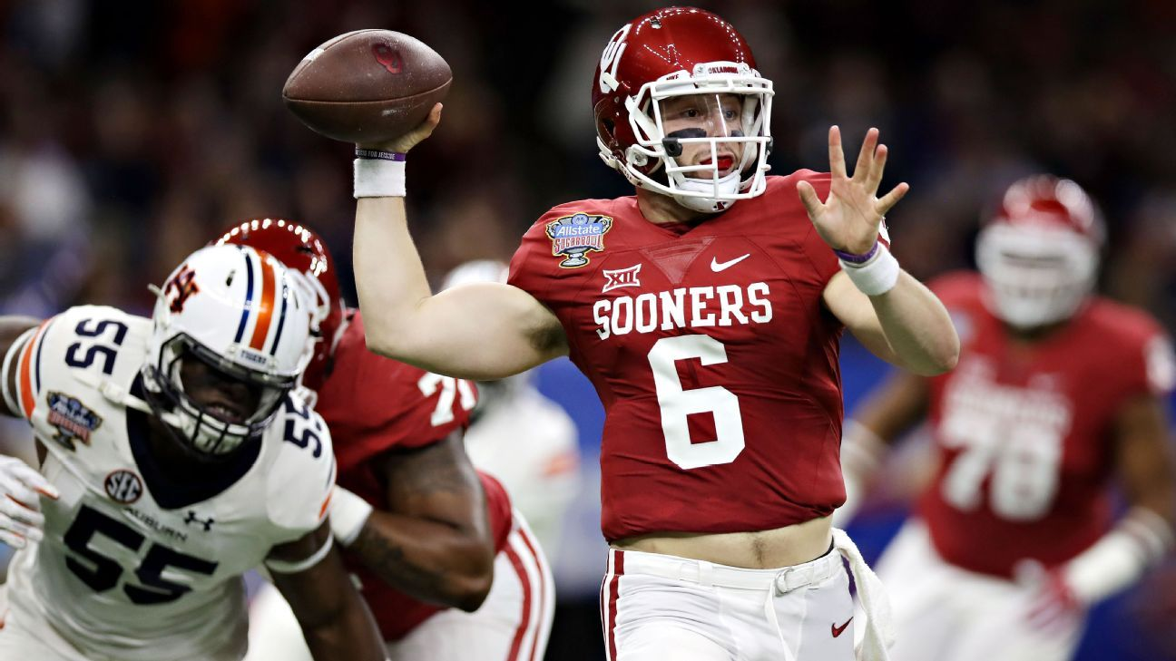 10e67979f Oklahoma Sooners quarterback Baker Mayfield arrested
