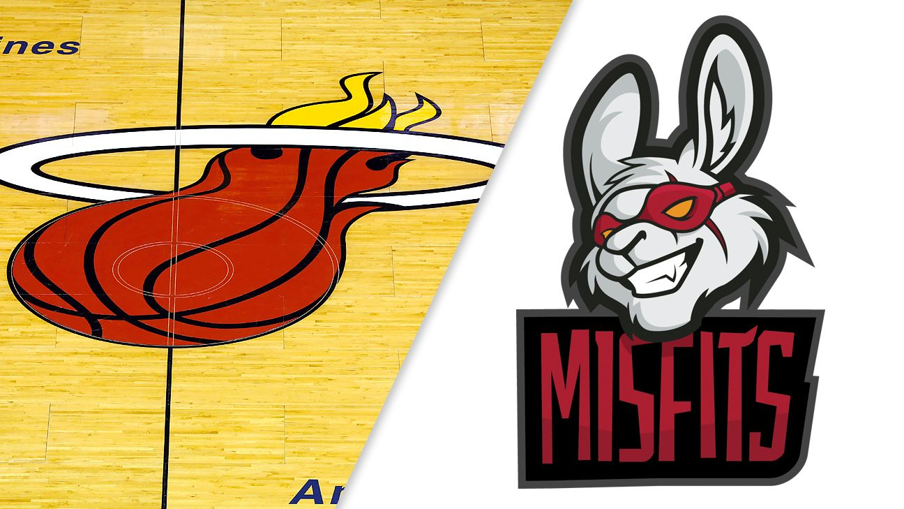 Miami Heat invest in esports with Misfits